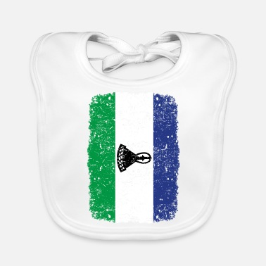 Home Country roots home country roots home Lesotho - Baby Bib