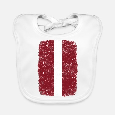 Home Country roots home country roots home Latvia - Baby Bib