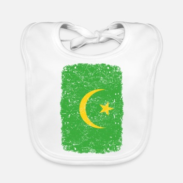 Home Country roots home country roots home Mauritania - Baby Bib