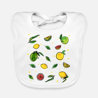 Fruity Fresh Fruity - Baby Bib