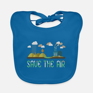Air Air - Save the air - Baby Bib