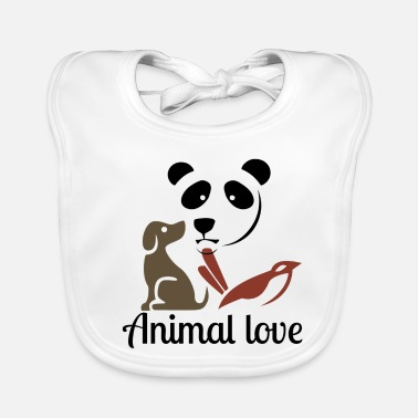 Animal Love Animal love - Baby Bib