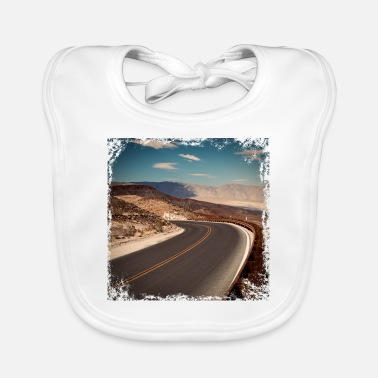Road On the roads - Baby Bib