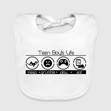The everyday life of a teenager - Baby Organic Bib