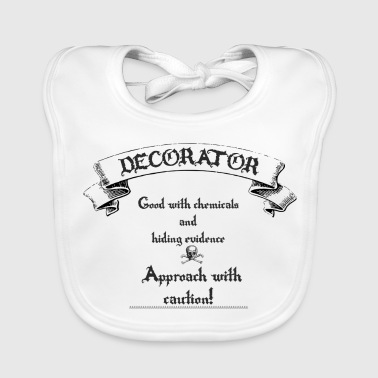 decorator, painter - Baby Organic Bib