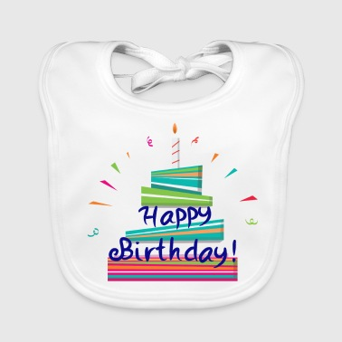 Happy Birthday! - Baby Organic Bib