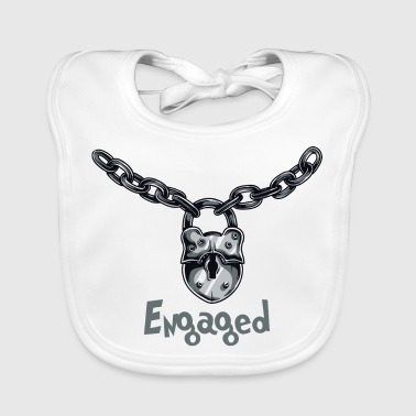 Engaged Chained - Baby Organic Bib