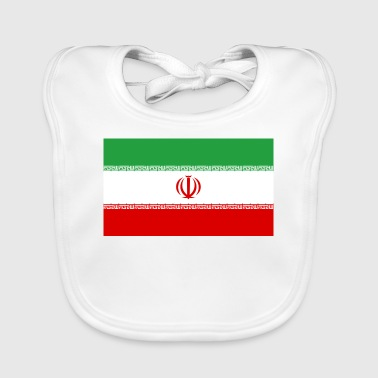 National Flag of Iran - Baby Organic Bib