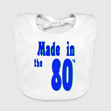 The 80s are not - Baby Organic Bib