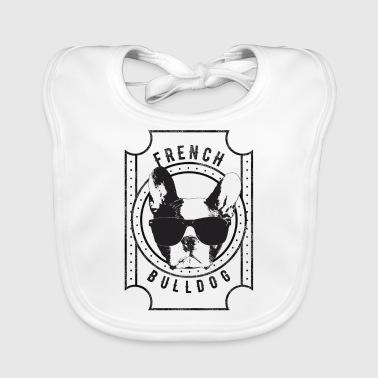 French Bulldog - Baby Organic Bib