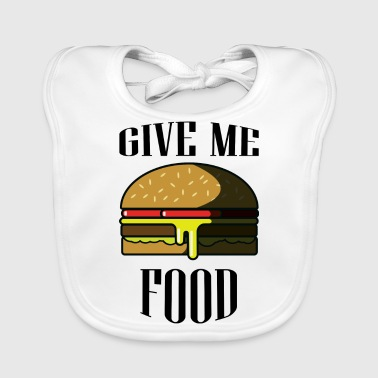 Give me FOOD - Baby Organic Bib