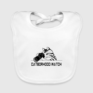 neighborhood cat - Baby Organic Bib