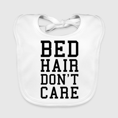 Bed Hair Funny Quote  - Baby Organic Bib