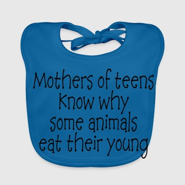 Funny Mother Quote Saying - Baby Organic Bib