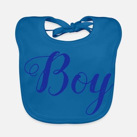 Boy Baby Clothes - Boy - boy - Baby Bib peacock-blue