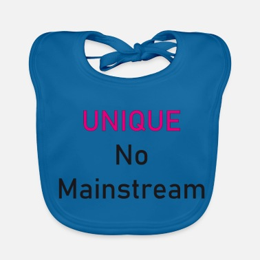 Mainstream Unique No Mainstream - Baby Bib