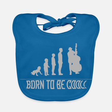 Bass Double Bassist - Human Development - Baby Organic Bib