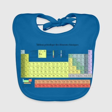 Periodic Table of Chemical Elements - Baby Organic Bib