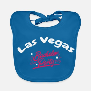 Game Over Bachelor Party Shirt Las Vegas Pre Wedding - Baby økologisk hagesmæk