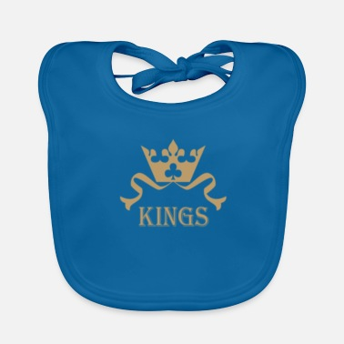 Queen queen and kings - Baby Bib