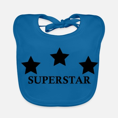 Superstar SUPERSTAR - Bio-slabbetje voor baby's