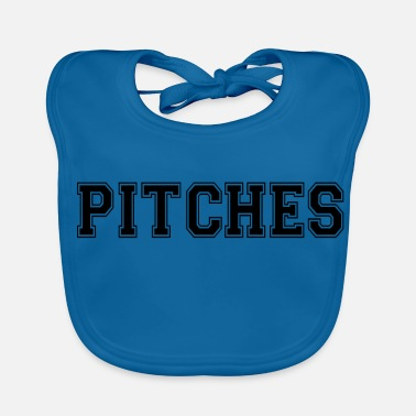 Pitch pitches - Baby Bib