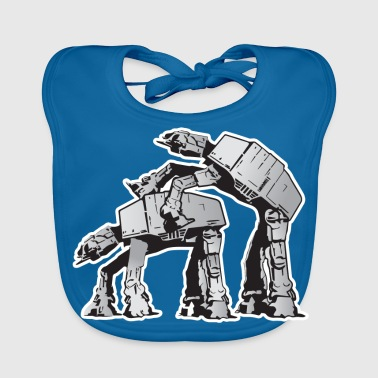 AT-AT Robot sex STAR, WARS - Baby Bio-Lätzchen