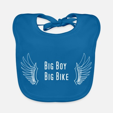 Big BIG BOY BIG BIKE - Bavoir bio Bébé