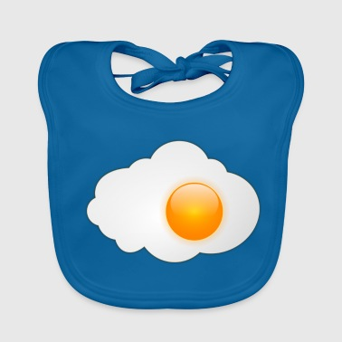 Fried Egg Fried egg with egg yolk - Baby Organic Bib
