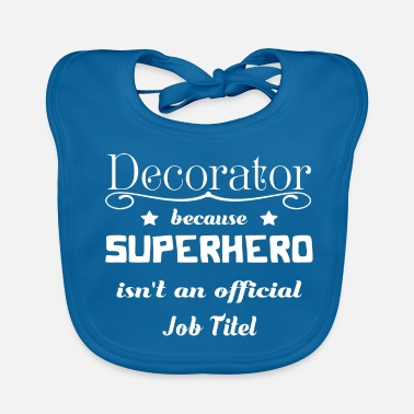 Decorating Decorator - Baby Organic Bib