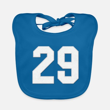 Jersey Number Baseball Sports jersey number / Jersey Number 29 - Baby Bib