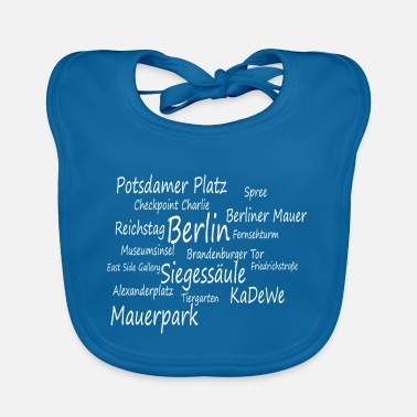 Berlin attractions. Capital. - Baby Bib