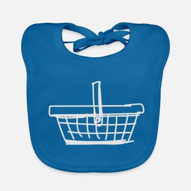 Basket shopping basket - Baby Bib
