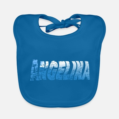 Hello My Name Is Hello my name is Angelina - Baby Bib