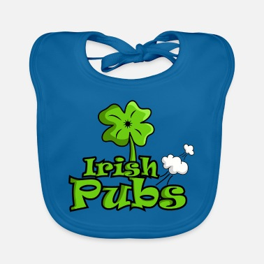 Bar Pub Irish pubs funny pubs shirt - Baby Organic Bib