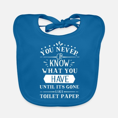 Vulgar Loo Bad Toilet Vulgar Joke World Gift - Baby Organic Bib