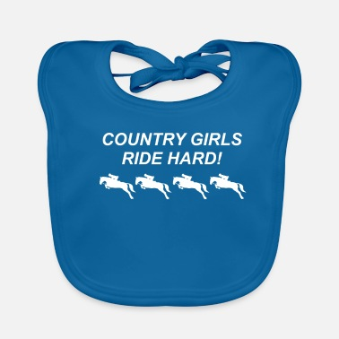 Revolver Country Girls Ride Hard - Cowboy, Western, Texas - Bavaglino