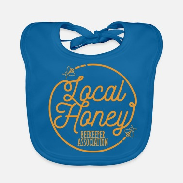 Association Lokale Honey Beekeeper Association Gift - Bio-slabbetje voor baby's