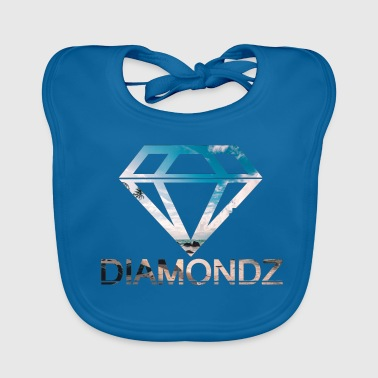 diamonds diamanten lolli Edel Mode Tshirt Design 3 - Baby Bio-Lätzchen