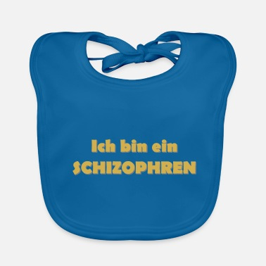 Psychology Schizophrenic 2 - Baby Organic Bib