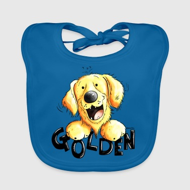Divertente Golden Retriever - Bavaglino