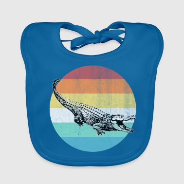 Animation crocodile - Baby Organic Bib
