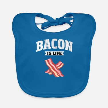 Späck Bacon Pig Meat Breakfast Bacon Gift - Ekologisk babyhaklapp