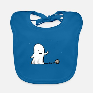 Ghost Ghost Ghost Ghost - Baby Organic Bib