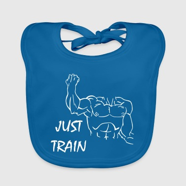 Just Train - Baby Bio-Lätzchen