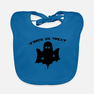Trick Or Treat trick or treat Trick or Treat Halloween - Baby Organic Bib