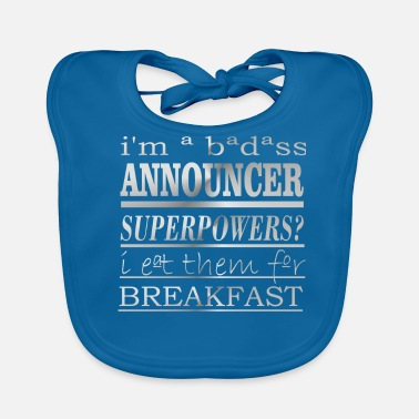 Announcement Announcer - Baby Bib