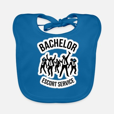 Wedding Party Bachelor T-Shirt I Wedding JGA Party - Baby Bib