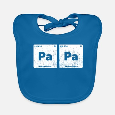 Periodic Table PaPa periodic table - Baby Organic Bib