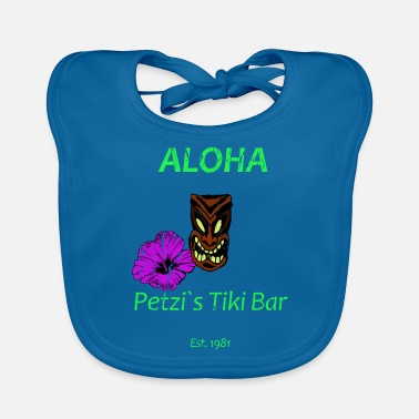 Aloha Tiki Bar - Hawaii Design - Baby Bib